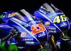 Foto: Rosi un Vinjaless prezentē jaunos MotoGP motociklus