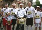 Foto: ''Prāta Vētra''  Nordea Rīgas maratonā