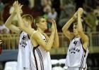 Latvija pārtrauc zaudējumu sēriju; rīt cīnīsies par 9. vietu