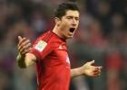 """Levandovskim divi vārti, """"Bayern"""" turpina tuvoties titulam"""