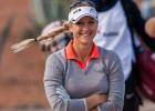Golfere Jansone paceļas uz dalītu 14.vietu Eiropas tūres noslēdzošajā posmā
