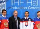 IIHF Slavas zālē uzņem Fjodorovu, Bondru, Peltonenu un Kamenski