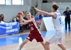 Latvijas U20 dāmas grupu turnīru noslēgs pret vicečempioni Franciju