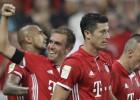 """Bundeslīga sākas ar Levandovska """"hat-trick"""" un """"Bayern"""" 6:0"""