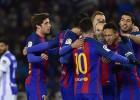 """""""Barcelona"""" lauž Sansebastjanas lāstu, arī """"Atletico"""" tuvu kausa pusfinālam"""