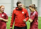 Sieviešu izlases treneris Matīss: ''Uzvaras dod lielu pārliecību''