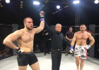 Latvijas MMA cīkstonis Mežijevs Vācijā uzveic ukraini Čapko