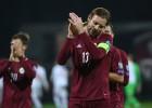 Latvijas izlasei FIFA rangā jauns antirekords - 124. vieta