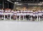 Latvijas Inline hokeja izlase pasaules čempionātu sāk ar uzvaru