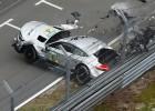 Video: DTM sacīkstēs Norisringā pēc avārijas hospitalizēti divi piloti