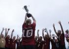 """""""Kreiss"""" atgūst Latvijas čempionu titulu pludmales futbolā"""
