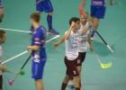 """Video: Rezultatīvā spēlē Latvijas izlasei zaudējums pret Somijas čempioniem """"SC Classic"""""""