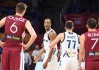 Video: Emocionālā 200 punktu spēlē Latvija līdz pusfinālam neaizsniedzas