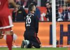 """""""Bayern"""" izlaiž divu vārtu pārsvaru pret """"Wolfsburg"""""""