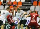 """""""Valmiera"""" negaidīti uzvar Norvēģijas komandu un iekļūst """"EuroFloorball"""" pusfinālā"""