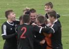 """Video: """"FK Liepāja"""" izcīna bronzu Latvijas Jaunatnes futbola čempionāta U-18 Elites grupā"""