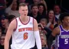 Video: NBA novembra reakcijās arī Porziņģis