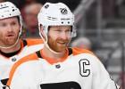 NHL nedēļas labākā spēlētāja gods Filadelfijas kapteinim Žirū