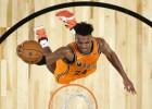 NBA Visu zvaigžņu spēles jauno talantu duelī Pasaules komanda sagrauj ASV