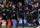 """Madrides """"Real"""" bez līderiem uzvar pārceltajā spēlē un pakāpjas uz trešo vietu"""