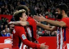 """""""Sevilla"""" rupjas kļūdas, Grīzmanam <i>hattrick</i> - """"Atletico"""" izcils rezultāts"""