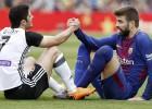 """""""Barcelona"""" pēc izgāšanās Romā pārspēj trešās pozīcijas īpašnieci """"Valencia"""""""