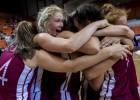 Latvijai pirmo reizi Pasaules kausa komanda no viena gadagājuma spēlētājām