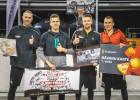 """Brāļi Antropi apvienojas uzvarai """"Ghetto Basket"""" Grīziņkalnā"""