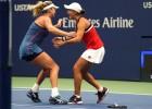"""Bārtija un Vandevei """"US Open"""" finālā atspēlē trīs mačbumbas"""