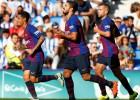 """""""Barcelona"""" atspēlējas un viesos pārspēj sev neērto pretinieci """"Real Sociedad"""""""