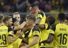 Dortmunde atspēlējas no 0:2, Alkasera vārti dod līderpozīciju