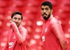 """""""Barcelona"""" viesos pie """"Tottenham"""", """"Liverpool"""" smagais grafiks turpinās Neapolē"""