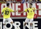Hamesam Rodrigesam skaisti vārti, Kolumbija un Meksika svin rezultatīvas uzvaras