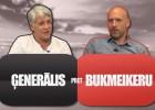 """Video: Ģenerālis un Bukmeikers spēlē """"NBA Fantasy"""", uzvarētājs naudu ziedos labdarībai"""