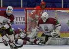 U18 hokejisti pārbaudes turnīru noslēdz ar <i>sauso</i> zaudējumu Kazahstānai