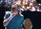 """Cicips pirmoreiz iekļūst """"Grand Slam"""" pusfinālā, Nadalam 30 pusfināli"""