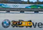 Vācija turpina dominēt bobslejā, šoreiz dāmu dubultuzvara