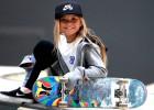 Olimpiskajās spēlēs, iespējams, startēs 12 gadus veca skeitbordiste