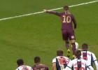Video: Futbolists īpatnējā veidā nerealizē 11m soda sitienu