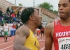 Video: Sprinteris triumfē agresīvā veidā