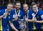 Zviedrija sakauj mājiniekus un triumfē pasaules čempionātā kērlingā