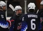 U18 čempionāts: ASV iemet 12 vārtus, Baltkrievija uzvar arī Somiju