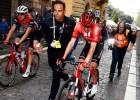 """Dumolēns izstājas no """"Giro d'Italia"""" pēc vakardienas smagā kritiena"""