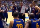 """Video: """"Barcelona"""" treneris ar skatienu vien liek noprast, lai TV kamera vācās prom"""