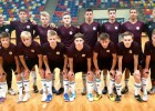 U19 telpu futbolistiem Daugavpilī neizšķirts pret Turcijas izlasi