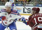 """Rīgas """"Dinamo"""" spēku pārbaude pret krietnas pārmaiņas piedzīvojušo līgas grandu SKA"""