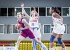 U16 meitenes atspēlē 21 punkta starpību un drāmā zaudē Krievijai
