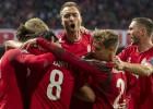 Īri atstāj svarīgus punktus Gruzijā, Dānija 85. minūtē izrauj lielu uzvaru pār Šveici