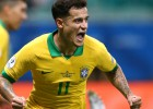 Koutinju iesit pirmo Brazīlijas izlases tiešo brīvsitienu piecu gadu laikā