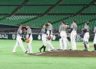 Japānā trīs beisbolisti inficējas ar Covid-19 un zaudē ožu